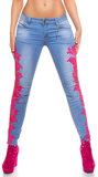 Sexy KouCla Skinny Jeans met Lace