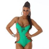 Sexy Monokini F2906 in Groen
