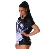 Sexy Jela London Shirt JL588 in Zwart