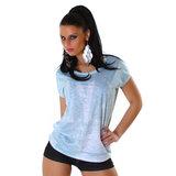 Sexy Jela London Shirt JL588 in Munt