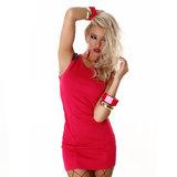 Sexy Jela London Jurk TS276 in Roze