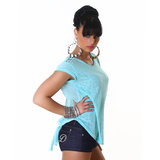Sexy Jela London Top TS450 in Turquoise