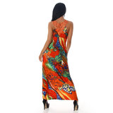 Sexy Jela London Maxi Dress 11584 in Oranje