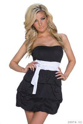 Sexy mini jurk van Pronta Moda in Zwart