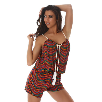 Sexy Shorts Overall MC003 in Oranje