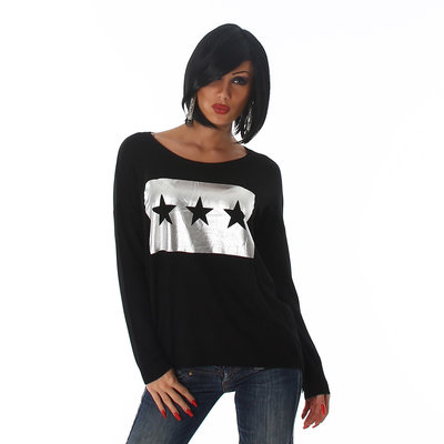 Jela London Pullover C333 in Zwart