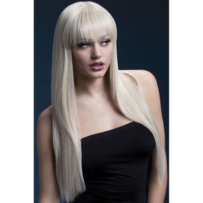 Lange Stijle Pruik - Blond