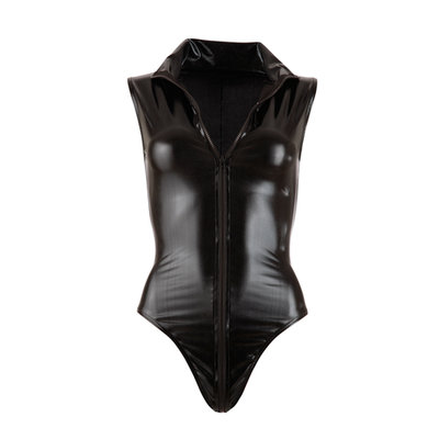 Wetlook Body Met Lange Rits