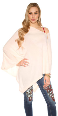 Trendy Scarf / Poncho It s Up 2 U in Roze