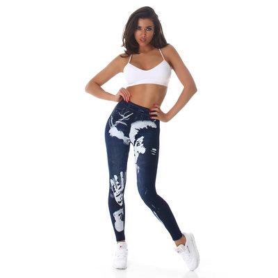 Sexy Leggings met Print DM91306