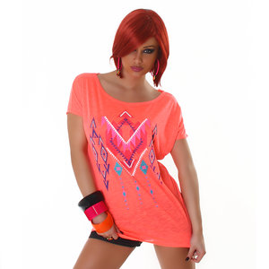 Sexy Jela London Shirt TS464 in Oranje