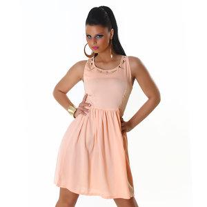 Sexy Jela London Party jurk in Zalm